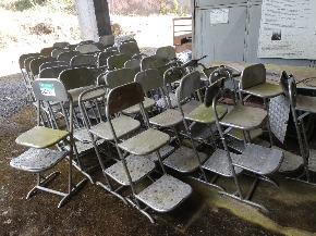 Cadeiras de Inox