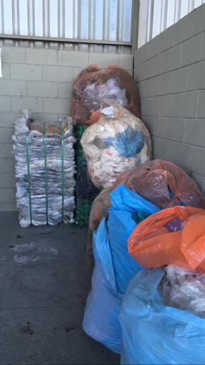 Sucata de Plástico Aprox. 30 ton a gerar em 12 meses.