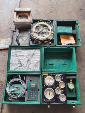 Tacômetro, Teste Hidr., Teste Pressão e Torquímetro