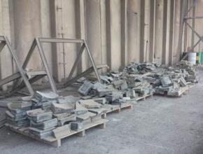 Sucata de Aço Manganês Salto de Pirapora SP. Aprox. 15 Ton.