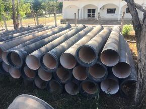 Lote de Tubo de Ferro Fundido (FoFo) ponta x bolsa Aprox. 38ton