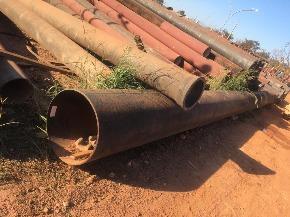 Tubo de Aço Aprox. 3,2ton