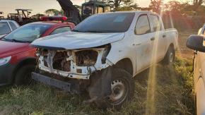 Sucata de Toyota Hilux CD Ano 2017