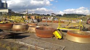 Sucata de Aço  ASTM A532 IIB Aprox. 88 Ton - Rio Branco do Sul PR