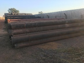 Lote de Tubo de Ferro Fundido FoFo ponta x bolsa 300 mm Aprox. 13ton