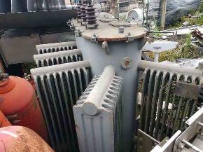 Sucata de Transformador Elétrico 500KVA