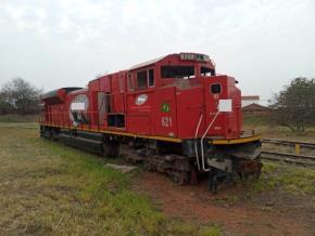 Sucata de Locomotiva Aprox. 70 ton - Araraquara SP