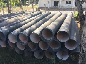 Lote de Tubo de Ferro Fundido (FoFo) ponta x bolsa Aprox. 57,50 ton