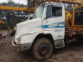 Caminhão Mercedes Benz-2318 6X4 - Equipado com Torre Florestal para Baldeio de Toras