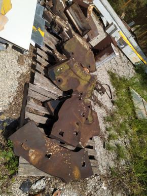 Sucata de Aço Manganês Aprox. 12 Ton - Itapeva/Lavrinhas SP