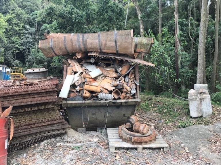 Sucata Aço Comum Cajamar Aprox. 15 ton a gerar em 12 meses