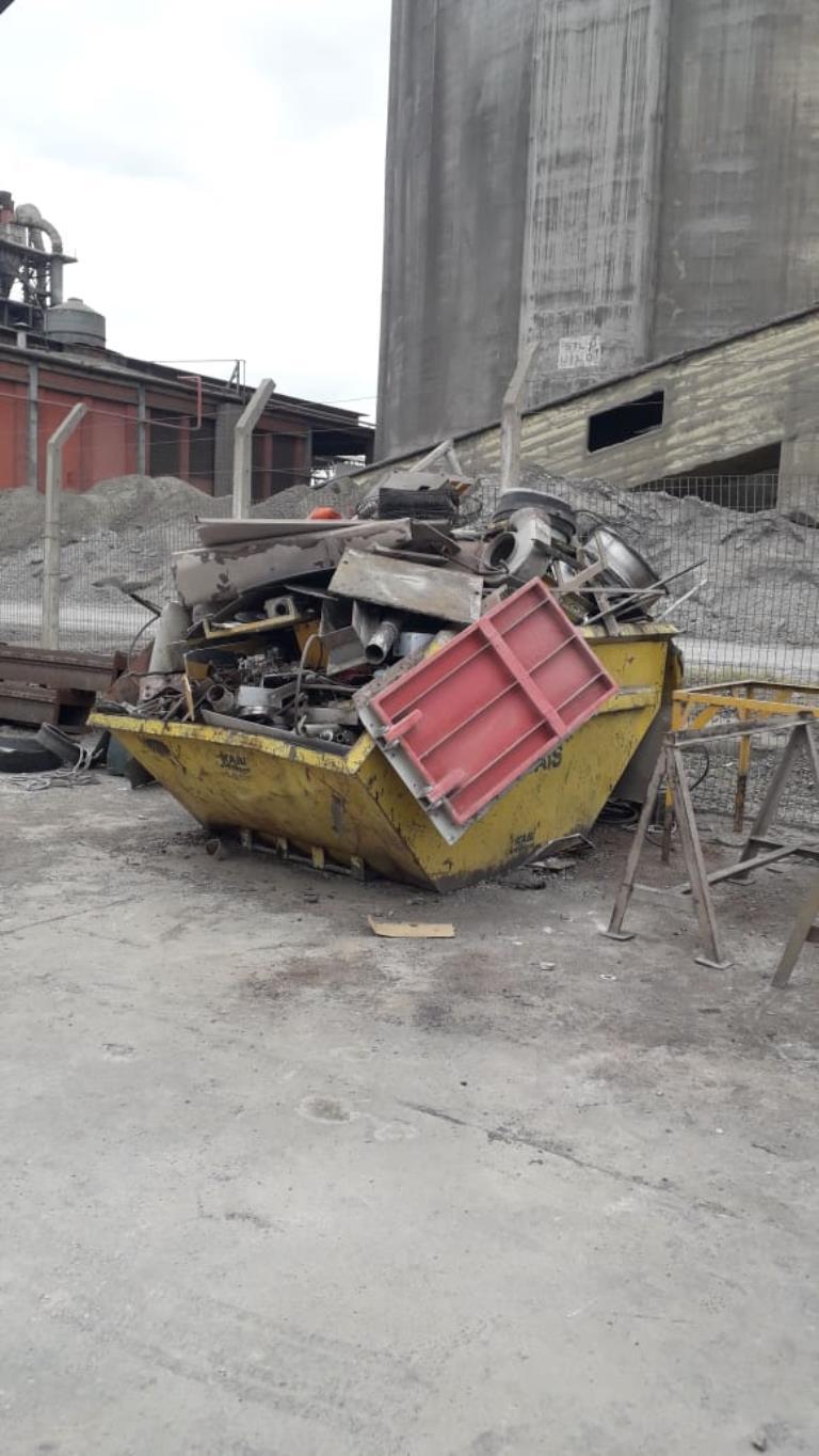 Sucata Aço Comum Campo Grande Apox. 15 Ton a gerar em 12 meses