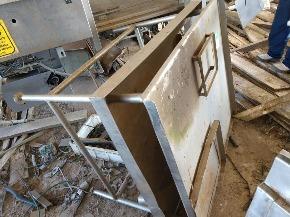 Mesa Aço Inox Aprox. 100kg