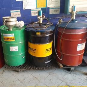 Sucata de Óleo Usado Região Sul Aprox. 112200 L a gerar em 12 meses. (PR, SC e RS)