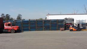 Sucata de Rack Metálico aprox. 22 ton