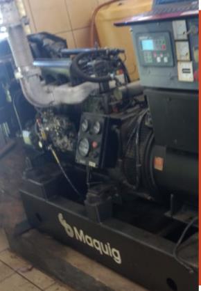 Grupo Moto Gerador Diesel Maquig 1201/406446m