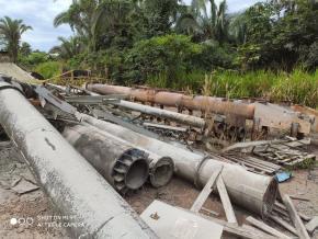 Sucata Aço Comum  Xambioá aprox. 200 ton a gerar em 12 meses