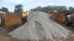 Sucata de Fino de Gusa Aprox. 3000 ton  a gerar em 12 meses. (pode apresentar impurezas)