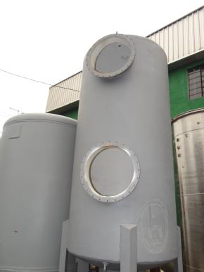 Vaso de Pressão em Aço Carbono para Filtro de Água e/ou Abrandador Diâmetro 1200 mm