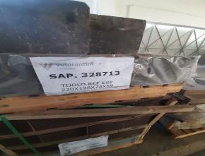 Sucata de Tijolos Argamassa e Concreto Vencidos Aprox. 11,36Ton.