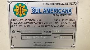 "Seccionadora Angular C.N.C. EM ""L"" Linea Versátile NS 3.6/1.3 - Sul Americana de Equipamentos"