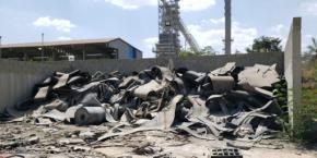 Sucata de Borracha (Correias, tiras e retalhos) Aprox. 100 ton a gerar em 12 meses.