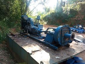 Draga de 6 Polegadas Motor Scania 112