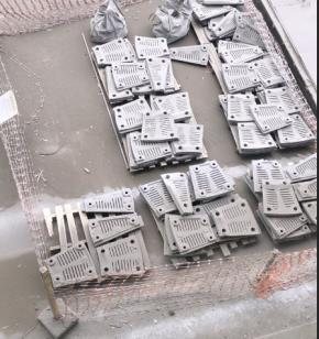 Sucata de Aço ASTM A743 CA 40 Aprox. 7 Ton - Poty Paulista PE