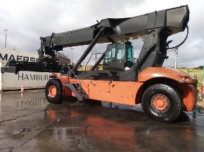 Empilhadeira Contêineres Reach Stacker Linde C4531TL 2010 Diesel