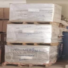 Sucata de Tijolos Argamassa e Concreto Vencidos Aprox. 15,8 Ton.