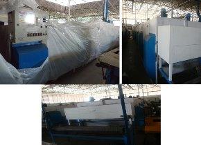 Túnel de secagem de couro Master 5 Módulos TCM 1800