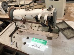 Conjunto de Máquinas de Costura de Transporte Triplo Pfaff e Brother