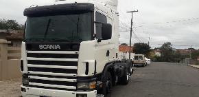 Caminhão Cavalo Mecânico Scania 124-360 2001