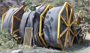 Sucata de Correias Transportadoras com Estrutura de Aço Aprox. 108 Ton - Santa Helena SP