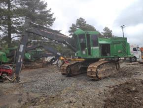 Escavadeira John Deere 903K Ano 2012