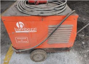 Máquina de Solda Bambozzi Piccola 405dc