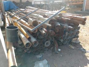 Sucata de tubos diversos Aprox 20 ton