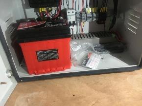 Fonte de Energia Solar com Bateria