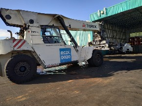Empilhadeira Contêineres Reach Stacker Terex TFC454 2014 Diesel