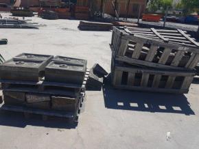 Placas de Manganês Para Moinho Aprox. 4430 kg