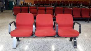 Cadeiras Longarinas 126 conjuntos