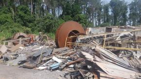 Sucata Aço Comum Itau de Minas aprox.  600 ton a gerar em 12 meses