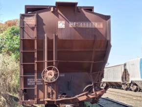 Sucata de Vagões Ferroviários Aprox. 300 Ton.
