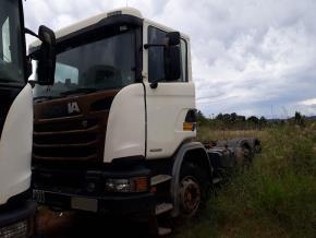 Caminhão Scania G 440 A6X4 CS 2015/2015
