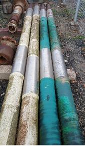 Aprox. 14,5 ton de Sucata de Aço Especial SAE 1020, 1035 e 1045