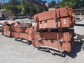 Peças Metálicas Aprox. 13770 kg