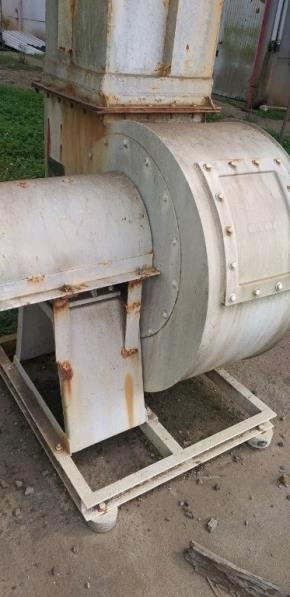 Ventilador Centrífugo - Vazão de ar 32400m³/h