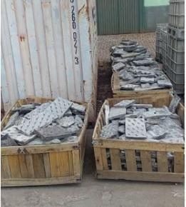 Sucata de Aço Manganês Aprox. 9 Toneladas