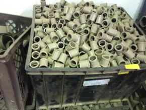 Lote de PVC (Adaptador, Luva Cruzeta)