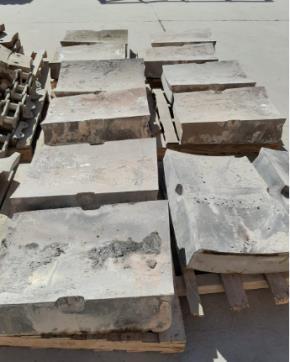 Sucata de Aço Manganês Aprox. 20 ton.
